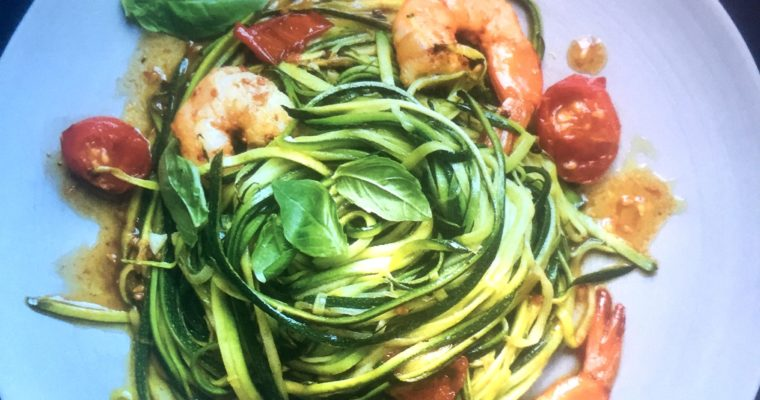 Courgettespaghetti