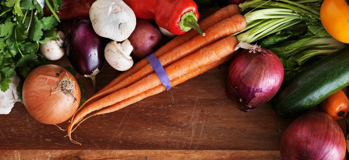 Online recepten met groenten