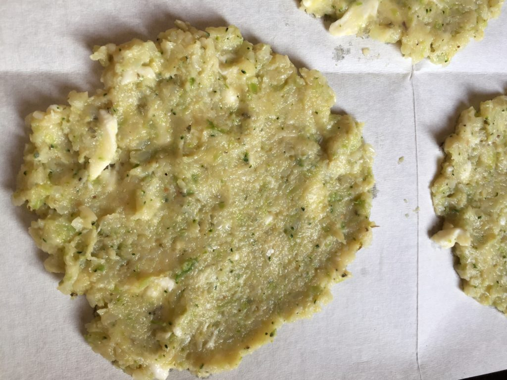 calzone plakken voor oven